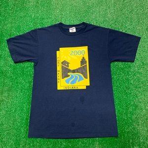 Vintage Fort Wayne Indiana Tourist Souvenir Shirt